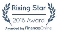 Training-Online.eu wins Finances Online 2016 Great User Experience Award and 2016 Rising Star Award
